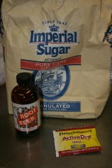 Ingredients needed for homemade root beer