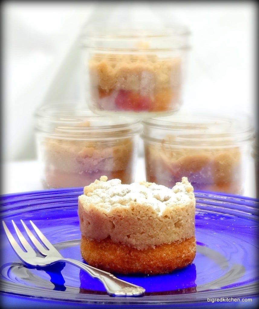 Mason Jar Coffee Cakes