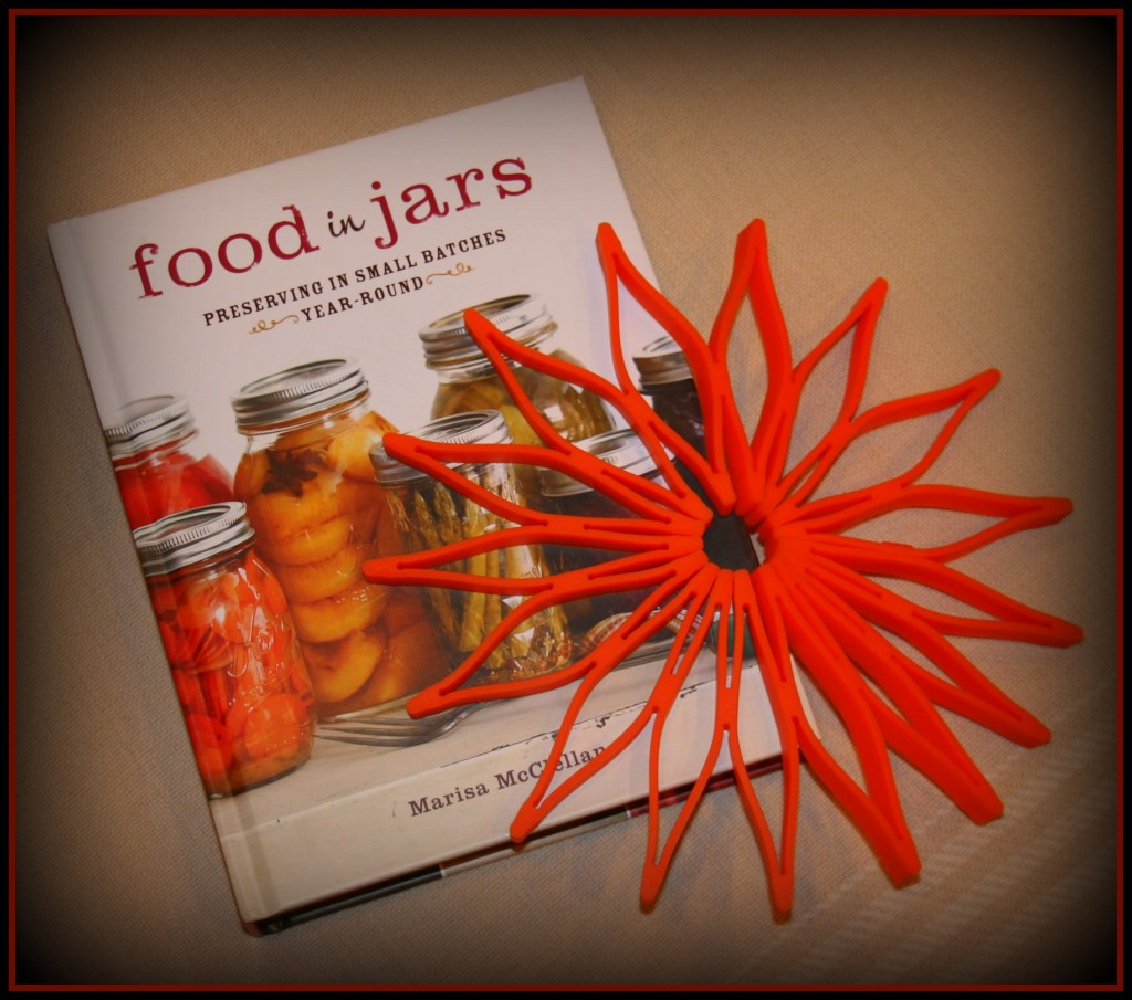 Food in Jars and Blossom Trivet