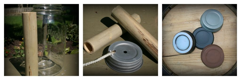 Mason Jar Lantern Supplies
