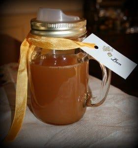 Cuppow with Mason Jar Mug