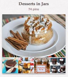 Dessert in Mason Jars