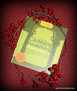 Canning and Preserving book