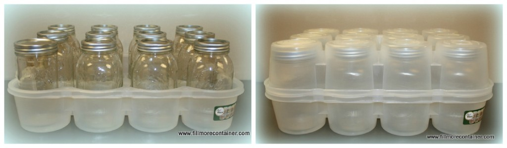 JarBOX for storing Mason Jars