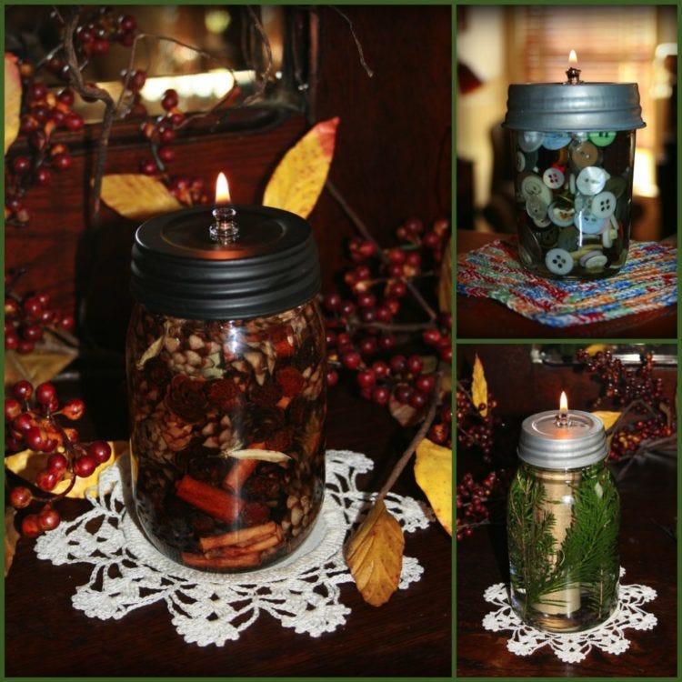 Diy mason jar mug lanterns a giveaway fillmore container