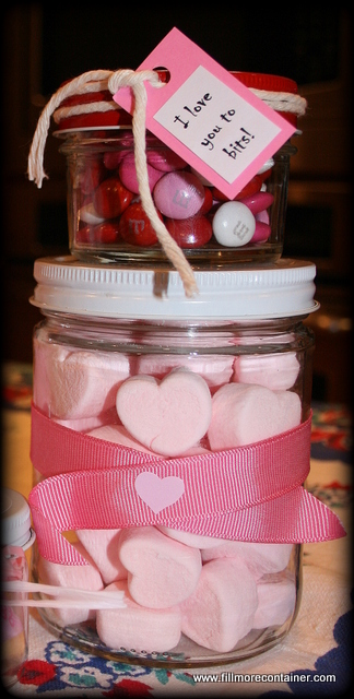 Treats in Tapered Jars