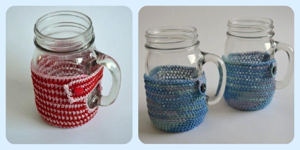 Mason Mug Crochet Design