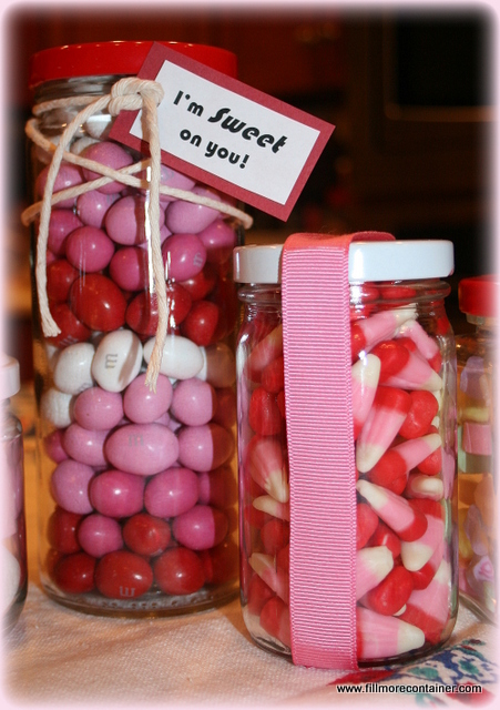 Sweet tooth in a jar