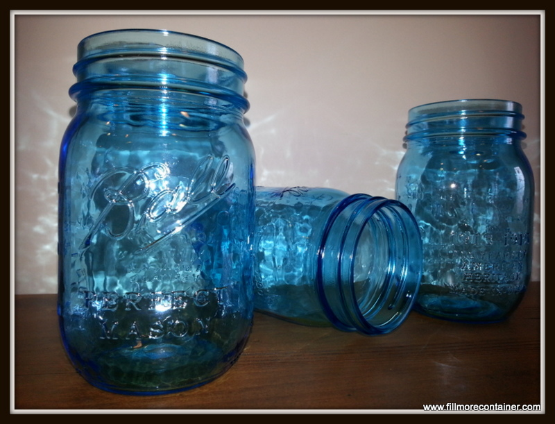 Ball's Heritage Collection Blue Pint Jars