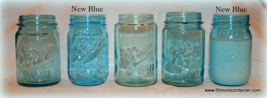 Vintage Ball jars vs new Ball jars