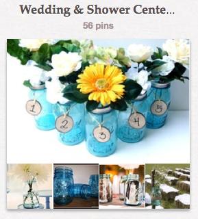 Pinterest board wedding sho