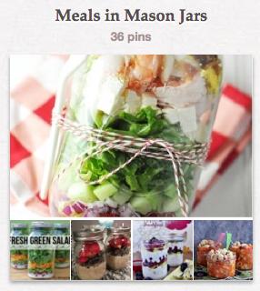 Meals in Mason Jars Board