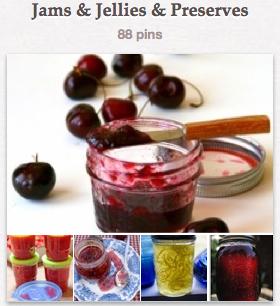 Jams & Jellies Pinterest Board