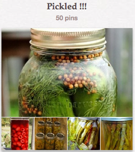 Pickled Pinterest Board