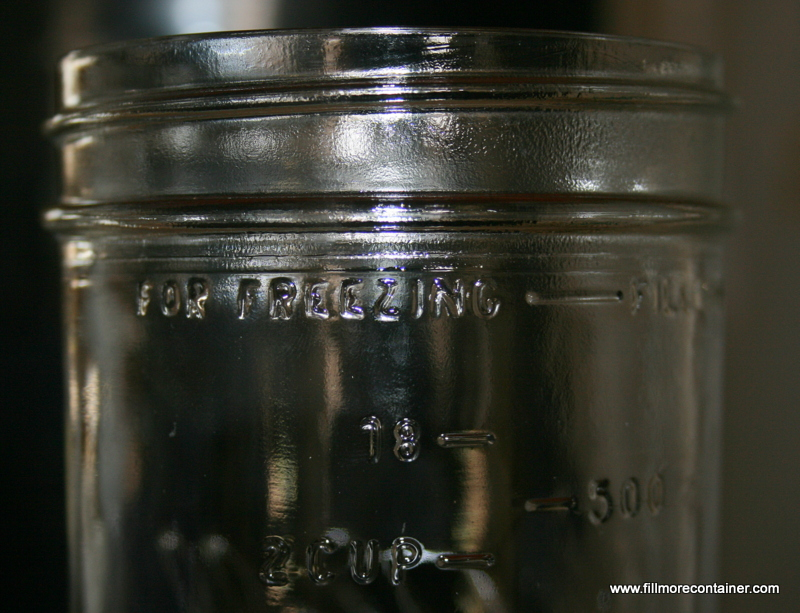 ball freezer jars. Allow Enough Headspace For The Expansion Of Your Product. Some, But Not All Ball Jars Have A \u201cFOR FREEZING\u2014\u2014FILL HERE\u201d Line Embossed On Glass. Freezer