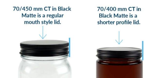 CTBlackMatte-shorterSkirt450/400mm
