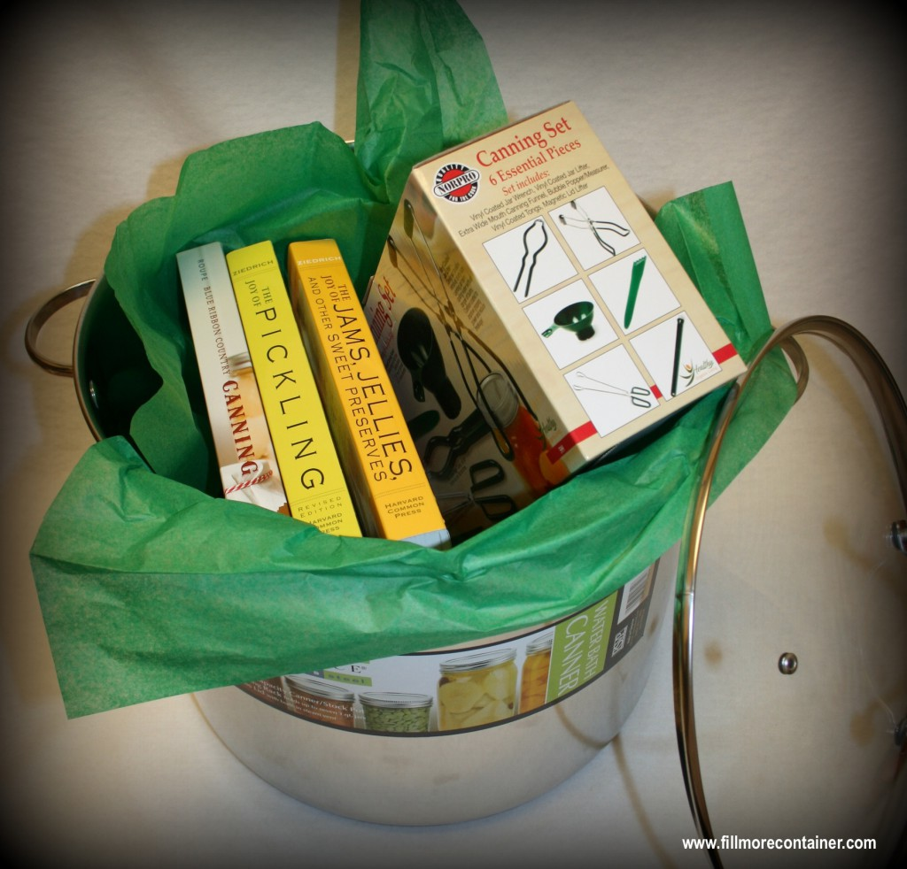 Canner, Books & Tools