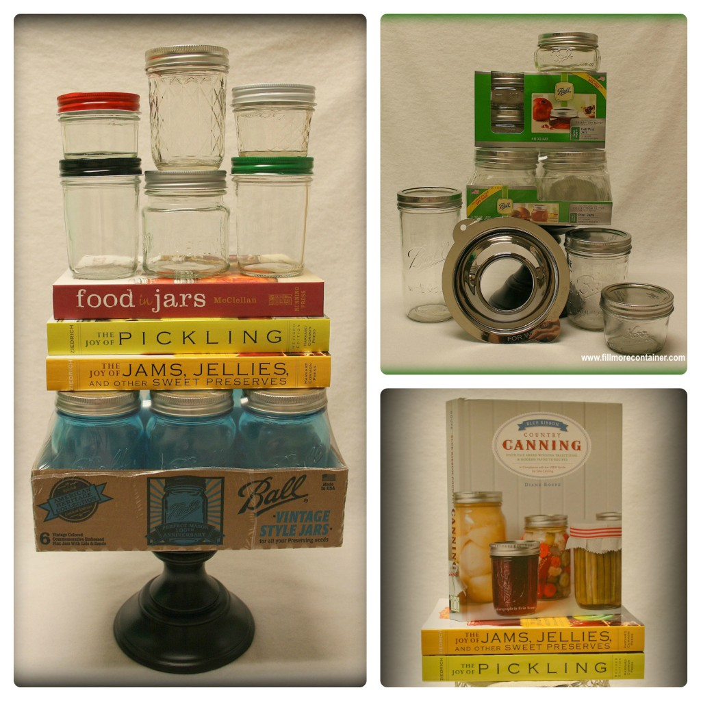 Canning Supplies Collage