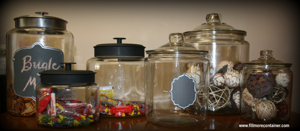 Pretty Montana and Heritage Hill Jars from Fillmore Container