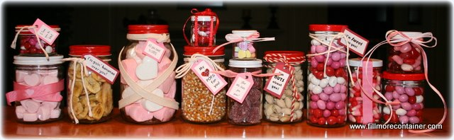 Valentine's Day in a Jar