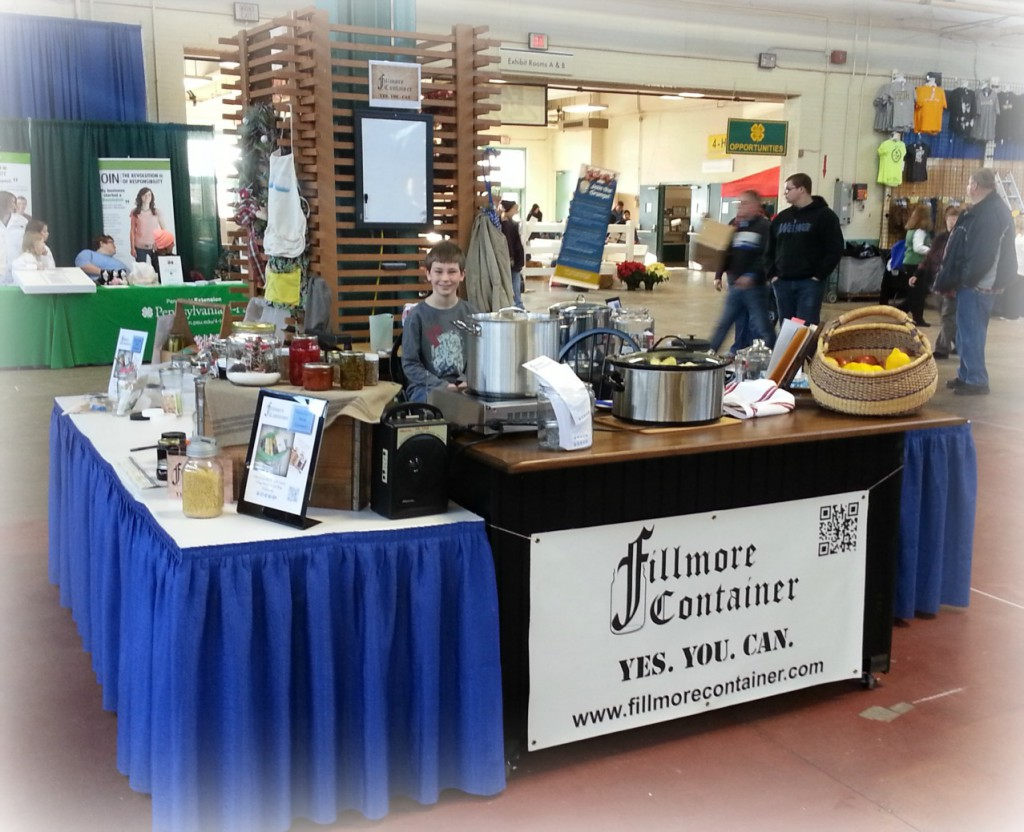 Canning Demo at PA FarmShow1