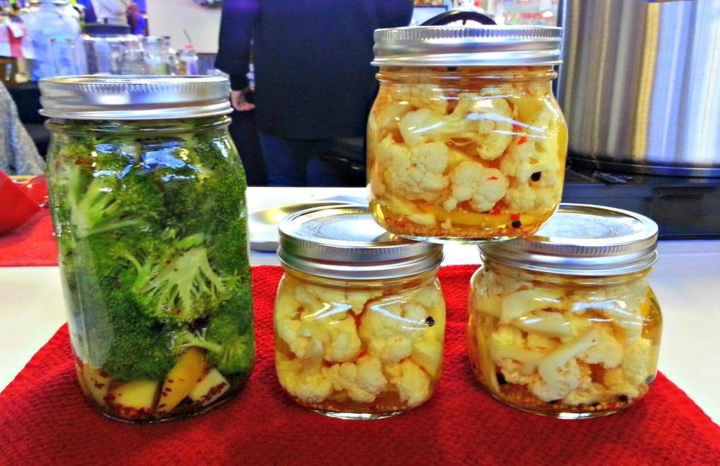 Lemony Pickled Cauliflower Recipe — Dishmaps