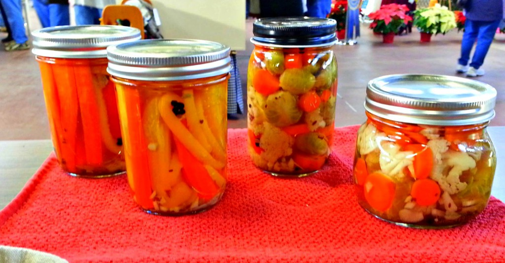 Pickled Brussel Sprouts, Carrots & Cauliflower.from Joy of Pickling!