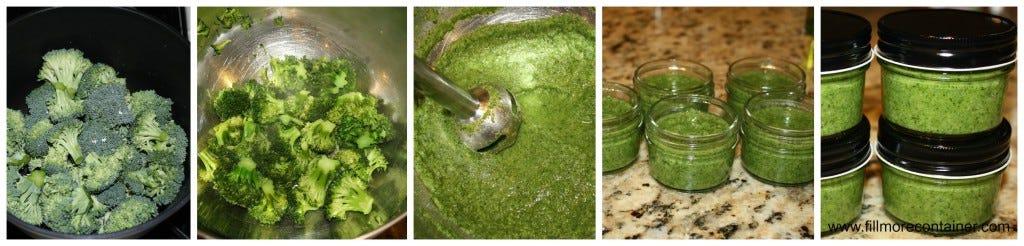 How to make Broccoli Baby Food