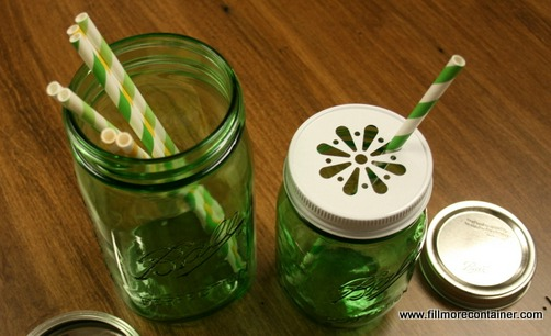 Ball Green Jars Fillmore Container
