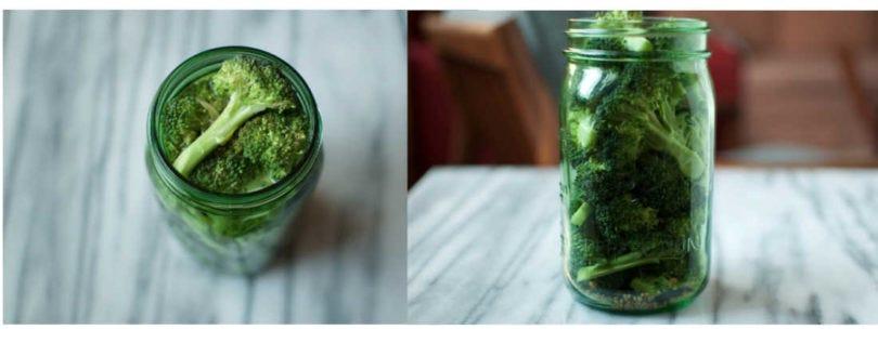Quick Pickled Broccoli