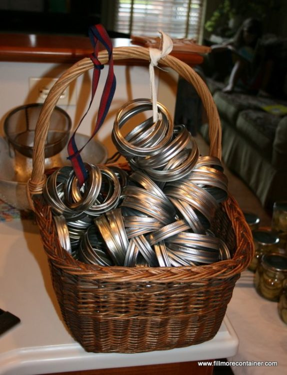 Canning Ring storage