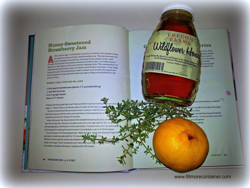 IngredientsStrawberryJam