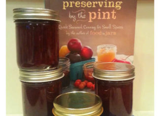 Preserving by the Pint Cookbook with Canning Jars