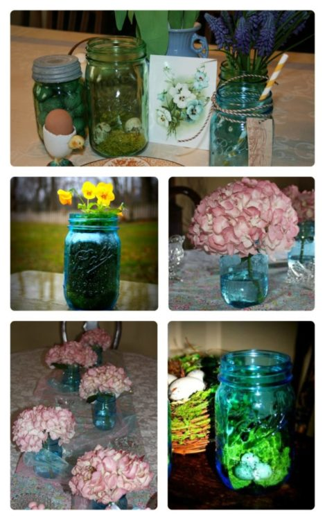 Spring-Easter Centerpieces