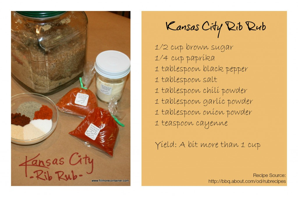 Kansas City Recipe