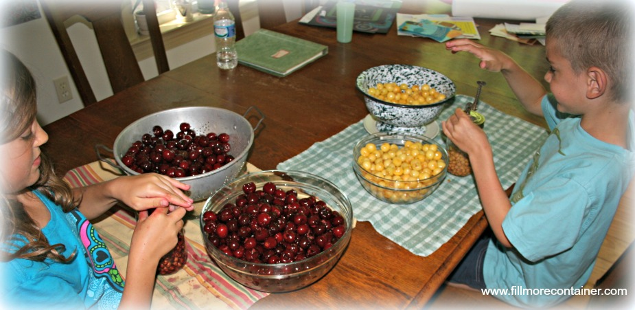 Pitting Cherries_Fillmore Container