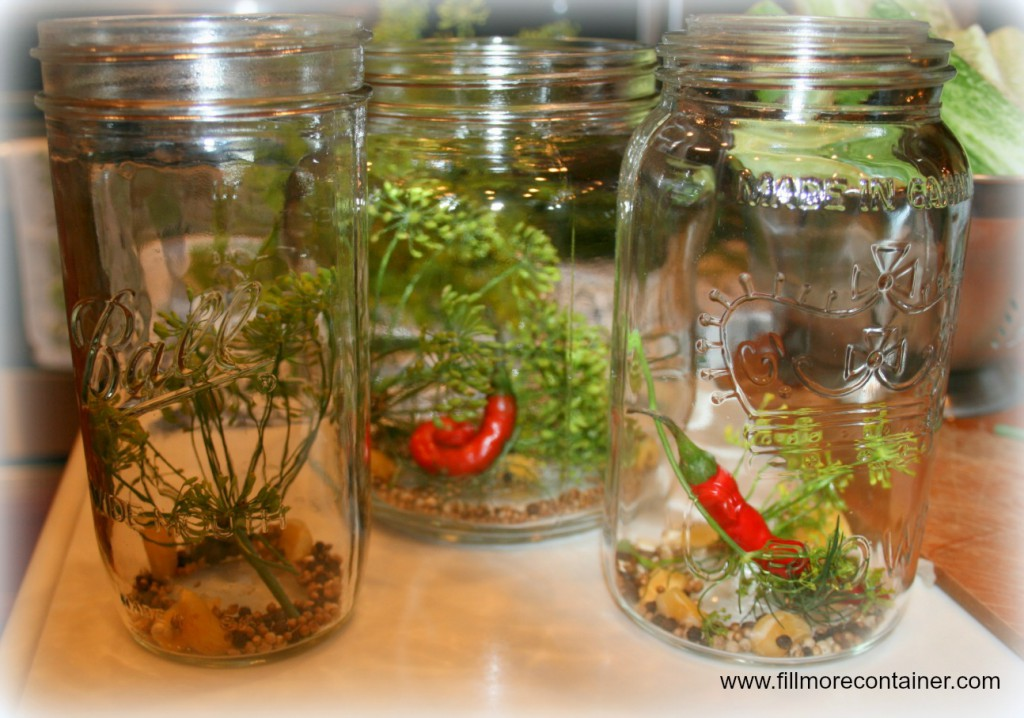 Pickling SPices in Jars