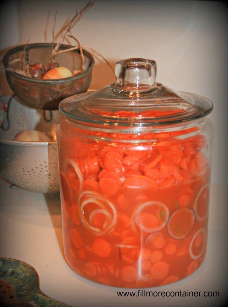 Salad Serving Jar