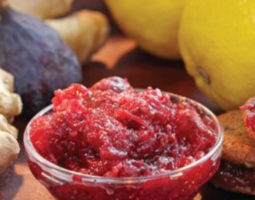 Gingered Lemon-Fig Preserves