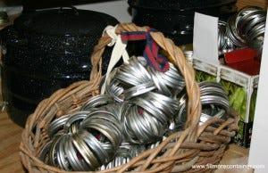 Canning Ring Storage