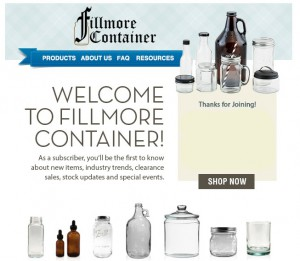 Fillmore container coupon code
