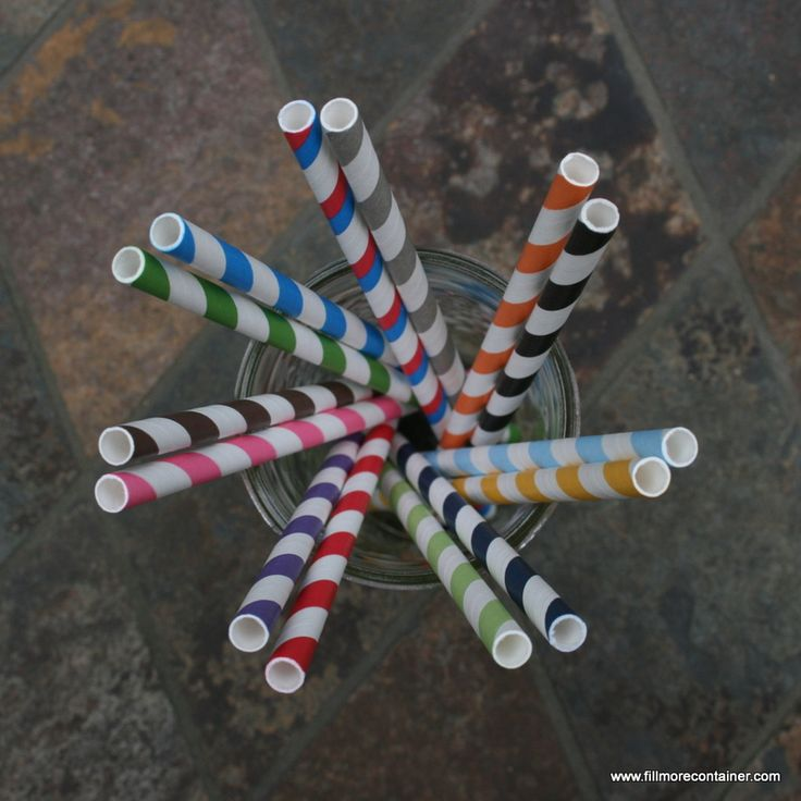 ColoredPaperStraws