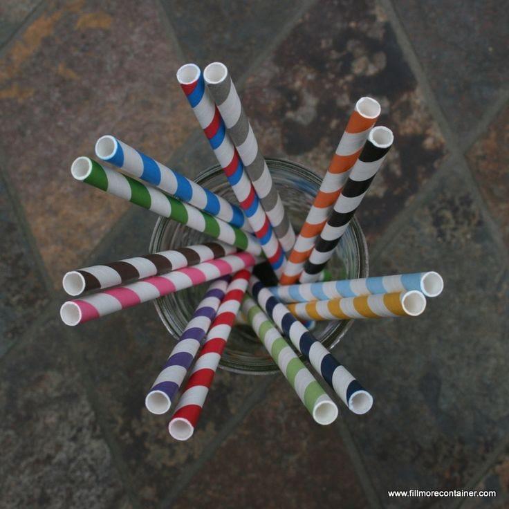 ColoredPaperStraws