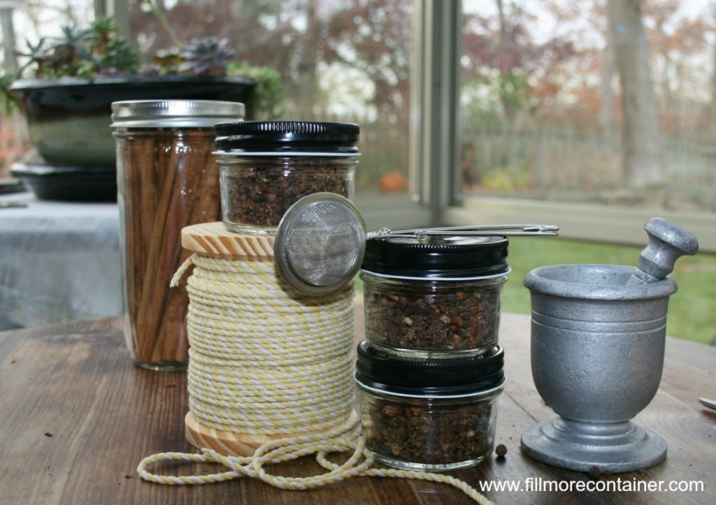 Mulling Spices ready to gift - Blog