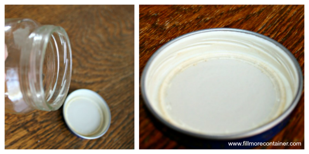 Thread on jar and lid - Fillmore