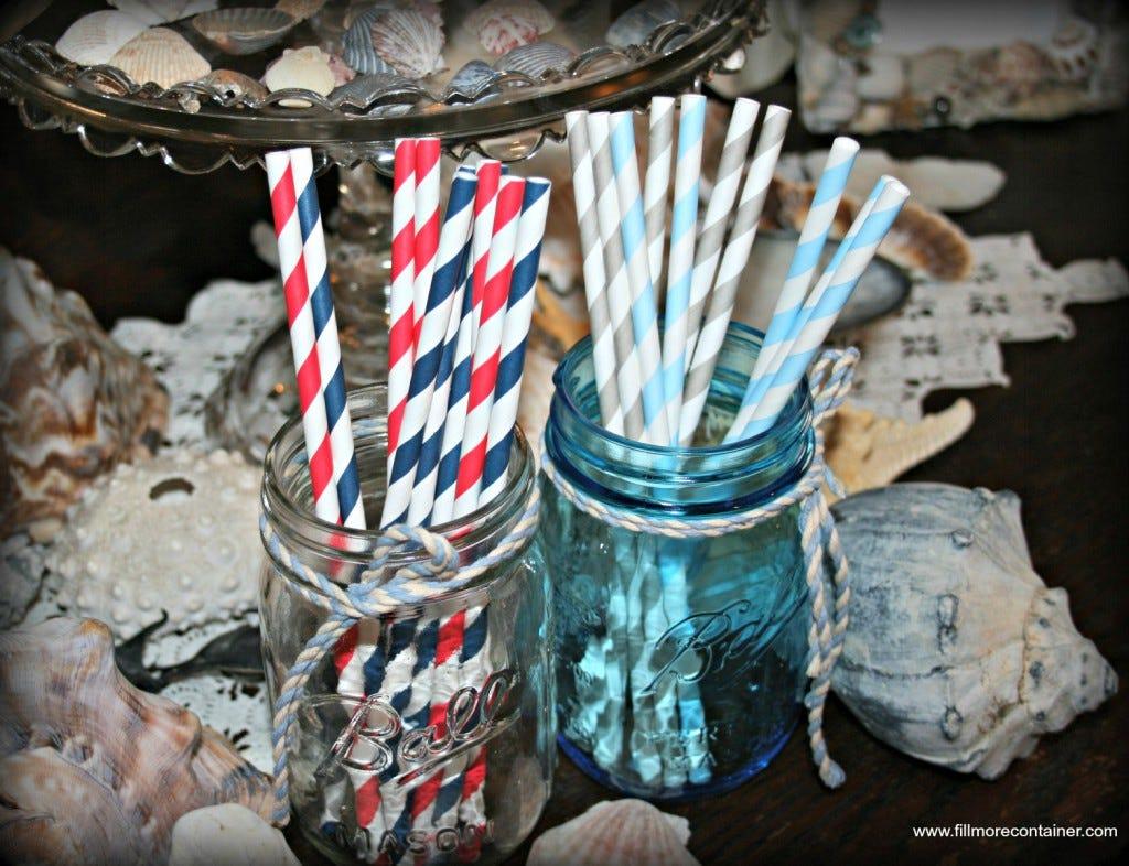 Mason Jar Wedding Ideas Fillmore Container