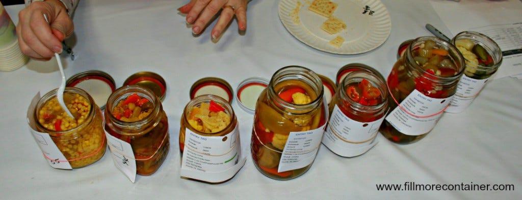 Judging Pickled Mixed Vegetables 2015