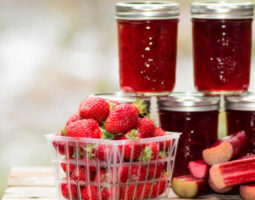 StrawberryRhubarb Jam