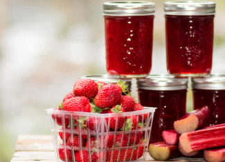 StrawberryRhubarb Jam