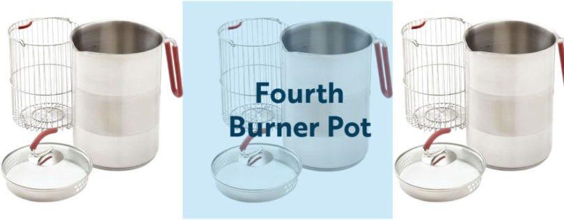 Fourth Burner Pot - fillmore container